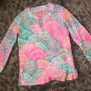 Lilly Pulitzer Oh Shello Tunic Top